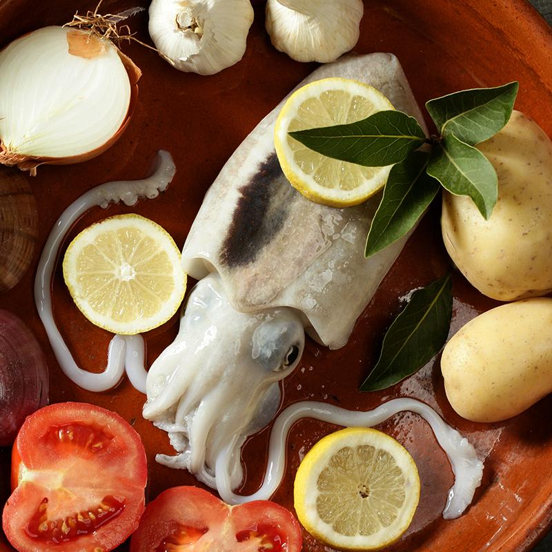 深海鱼2包远洋自捕冷冻乌贼鲜活野生大墨鱼鲜活乌贼 鲜活冷冻水产