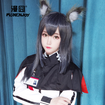 taobao agent 【Ridiculous】Tomorrow's Ark Texas Double Wolf Group Blue Gray Cos Wig Spot