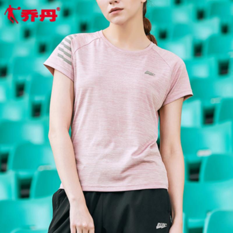 【乔丹】夏季速干运动短袖T恤女款