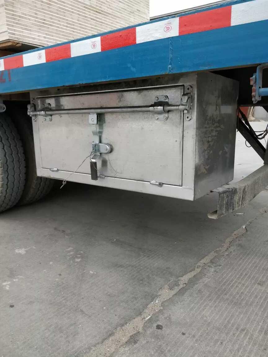 中大型貨車加裝外掛工具箱定做車用儲物箱大空間方型加厚鐵箱防銹