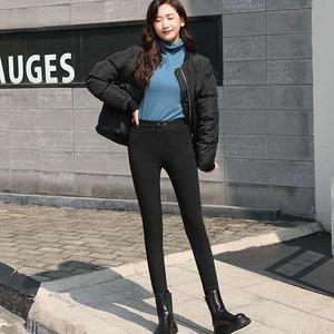 打底裤子女2020新品款春秋冬薄款外穿黑色紧身显瘦魔术铅笔高腰裤