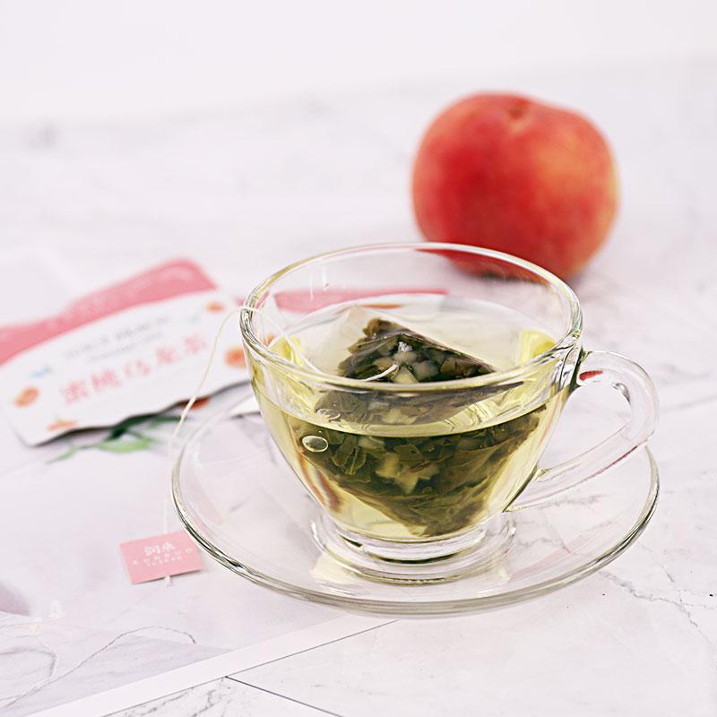 买2送1大包装蜜桃乌龙茶白桃乌龙茶润朵花果水果茶袋泡茶包冷泡茶