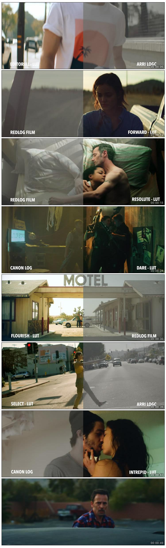 10种电影风格胶片质感LUTS视频调色预设(AE/Pr/FCPX/达芬奇/PS等)