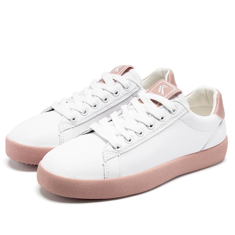 飞跃春季新款小白鞋,100元女生实用礼物