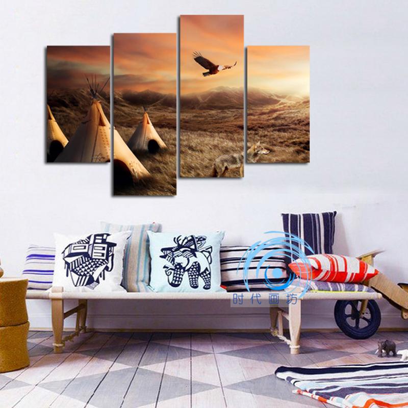 现代简约挂画客厅北欧海鸥餐厅装饰画v客厅沙发背景墙面壁风格创意