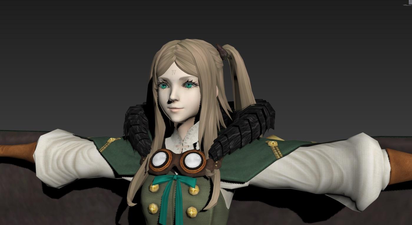 游戏角色3D模型 龙背上的骑兵3 游戏美术资源 模型 原画 设定 动画 动作全套素材  11