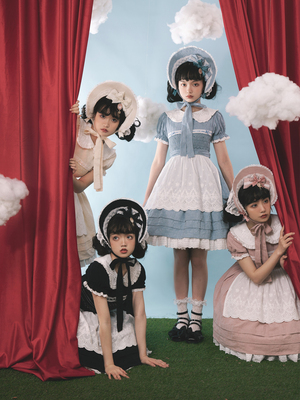 taobao agent Southern Cross Original【Kids】New spring lolita dresses, flowers are available on the last page
