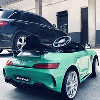Mercedes-Benz детские Электрические четыре колеса детские Игрушечный автомобиль с дистанционным управлением на младенца Автомобиль может взять детскую коляску ребенка