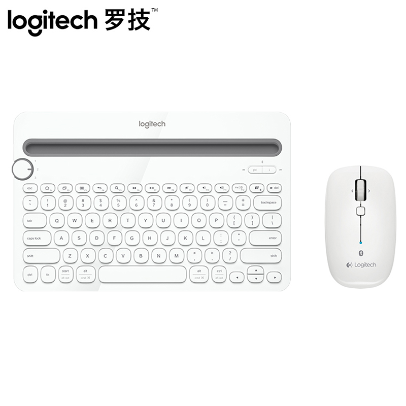 dbc86e7bbd7 Logitech K480 wireless Bluetooth keyboard M557/M558 mouse wireless mouse  and keyboard set laptop ipad tablet Android surface mobile phone office  universal