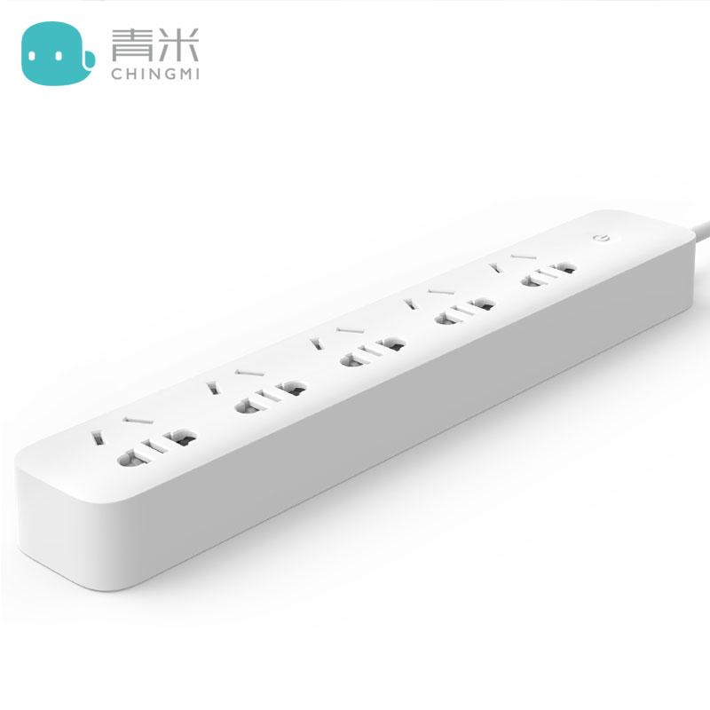 青米智能插排插座小5位wifi手机远程控制定时插线板米插排家用