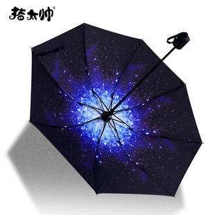 【猪太帅】晴雨两用便携折叠伞