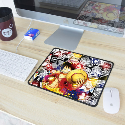 Mouse Pad Trumpet One Piece Anime Mouse Pad Hero King League of Warcraft Naruto Game Creative Table Mat