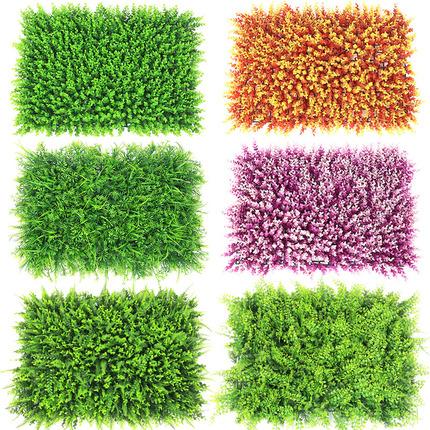 绿植墙仿真植物草皮室内客厅背景墙面阳台壁挂塑料假草坪门头装饰