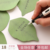 Korea cute simulation leaf note pad portable tearable note paper sticky message note N times post