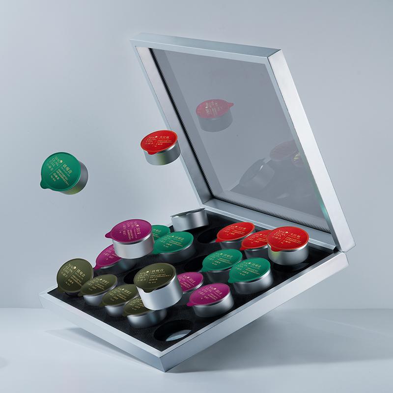 非遗技艺传承人监制:20罐 小罐茶 特级大红袍乌龙茶礼盒 4种茶叶