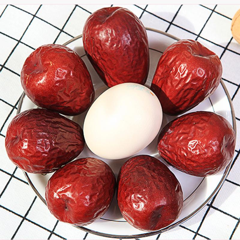 【鸡蛋大小】新疆大红枣500g
