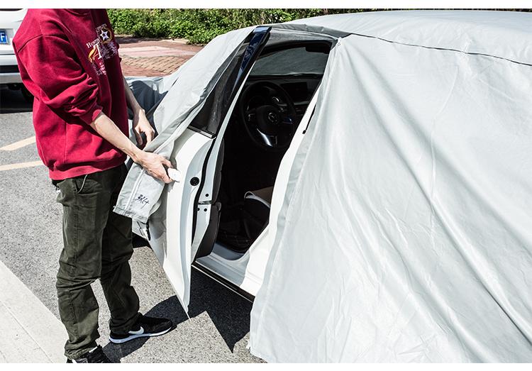 Chùm phủ xe chống nắng Mazda 6 loại dày cao cấp - ảnh 18