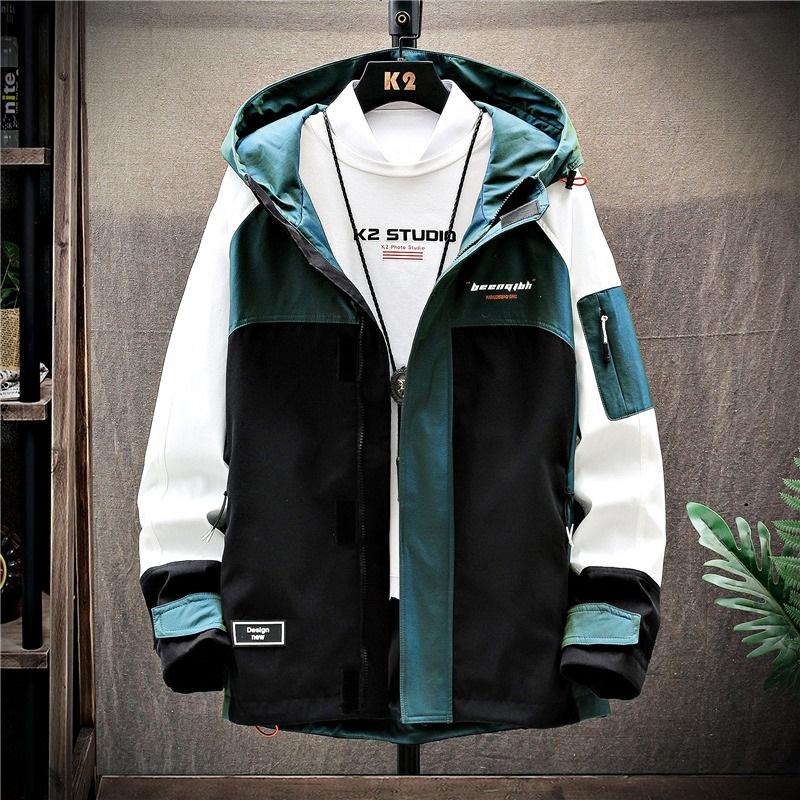Áo khoác nam 2020 xu hướng phong cách Hàn Quốc mới thường mặc quần áo hàng đầu nam mùa xuân và mùa thu đẹp trai - Áo khoác