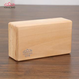 Отлично карта лотос /YOKALAND простой,но изысканный деревянный йога кирпич войти йога инструмент полый кирпич, цена 1109 руб