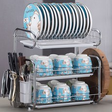 Kitchen shelving articles and utensils, drying, washing and putting water bowl rack, cupboard, cupboard, dishes, chopsticks, plate knife, storage box, tableware rack