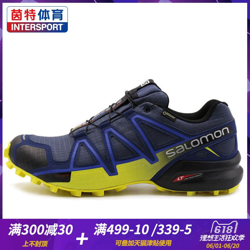 115.19] Salomon Salomon Men's Shoes SPEEDCROSS 4 GTX Winter