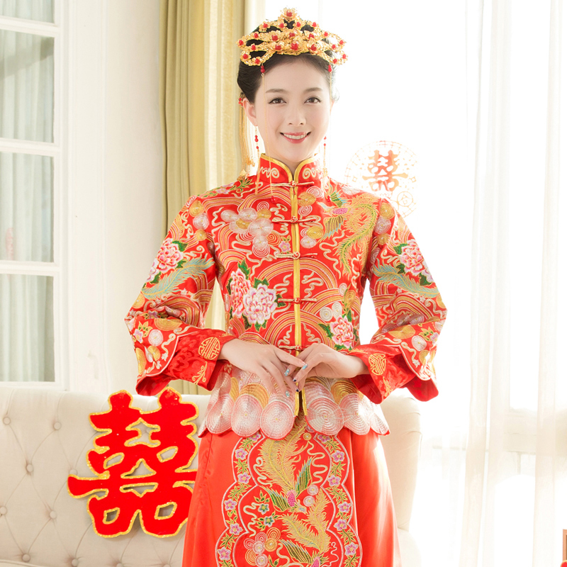 Usd 15877 New Summer Show Wo Clothing Bridal Toast Chinese Dress