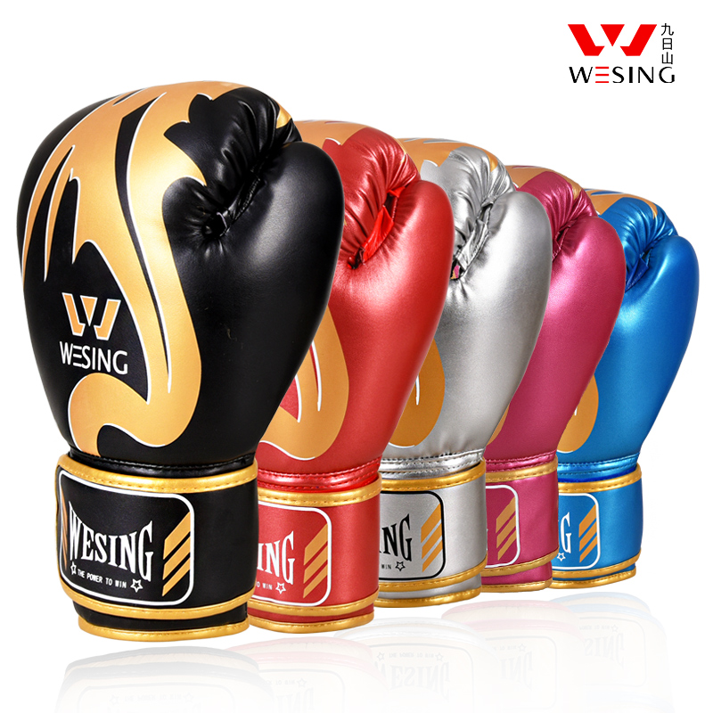 Nine-day mountain boxing gloves adult men and women training Muay Thai free fight professional loose sandbag boxing sets