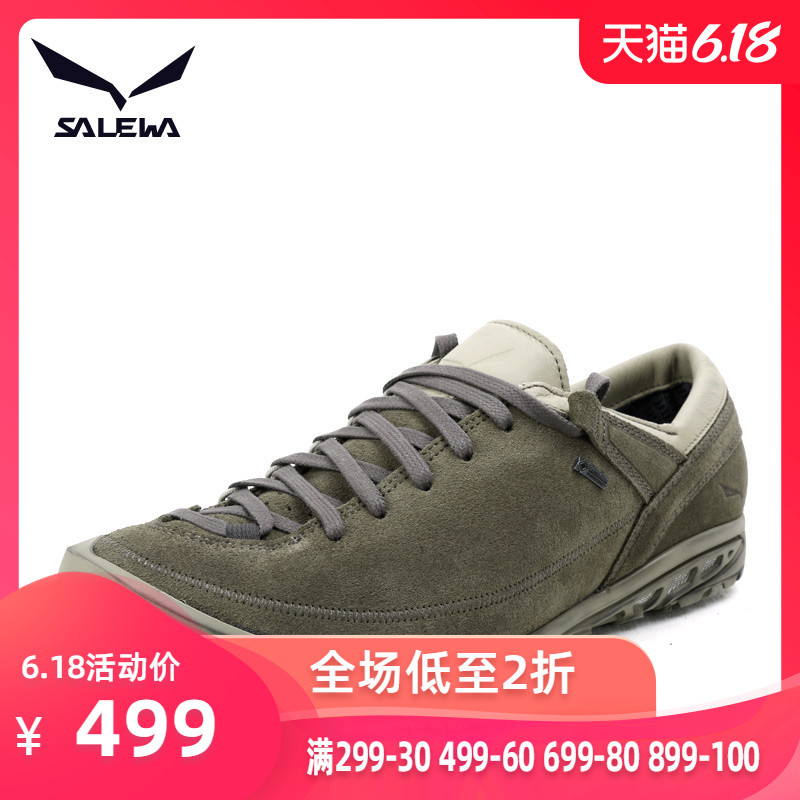Salowar SALEWA Outdoor GORE-TEX Casual Shoes Waterproof Breathable Hiking Shoes 63453 63454