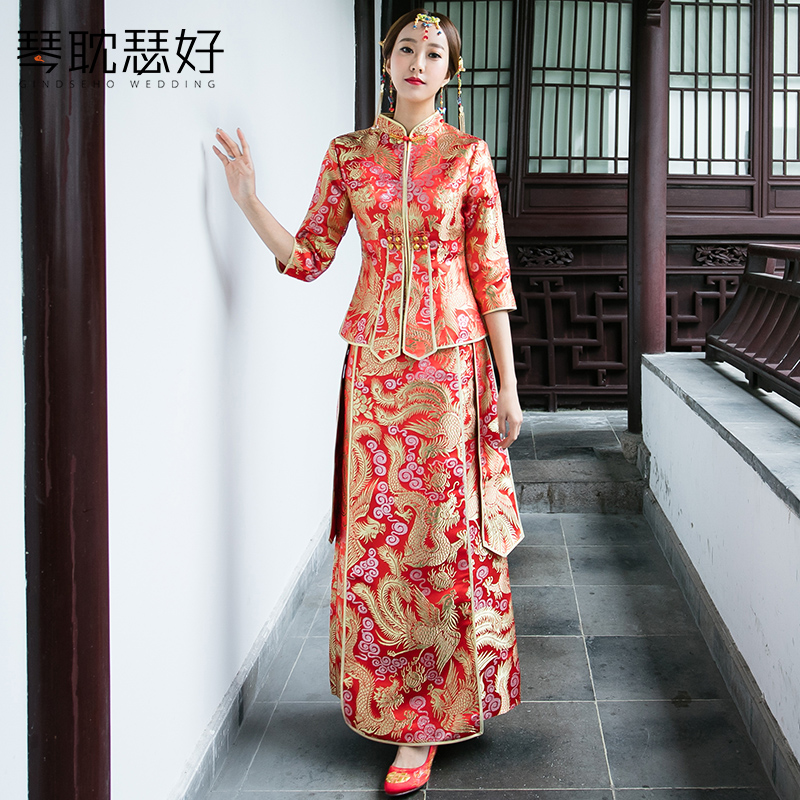 Usd 14168 Show Wo Clothing 2018 New Chinese Wedding Toast Clothing