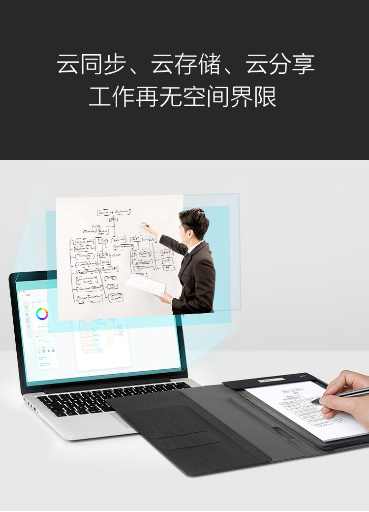 柔宇科技柔记_智能手写本手写板电子记事本