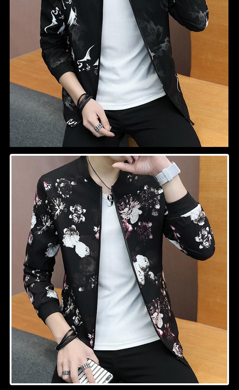 Áo khoác nam Hàn Quốc phiên bản của xu hướng của Slim đẹp trai mùa hè của nam giới quần áo kem chống nắng quần áo 2018 mùa xuân và mùa thu mới áo khoác giản dị