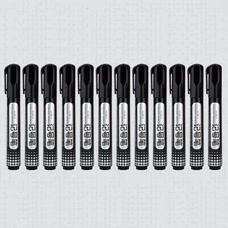 可得优记号笔 黑色光盘笔 大头笔记号笔 油性马克笔 记号笔批发_天猫超市优惠券