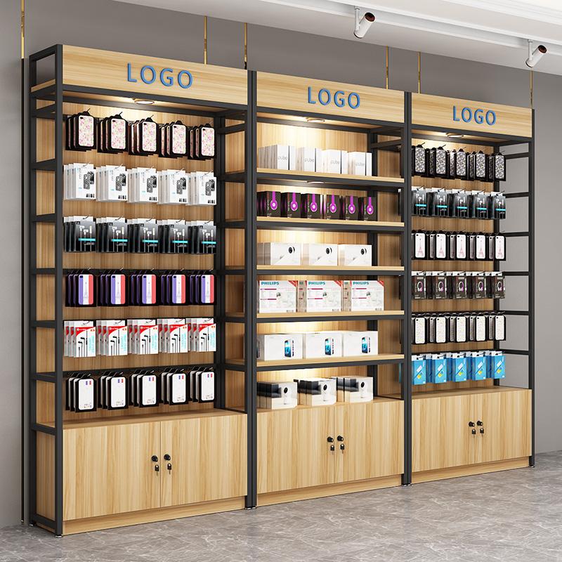 Điện thoại di động phụ kiện hiển thị giá siêu thị cửa hàng tiện lợi kệ giá đồ trang sức đồ lót móc trưng bày tủ trưng bày kết hợp tủ - Kệ / Tủ trưng bày