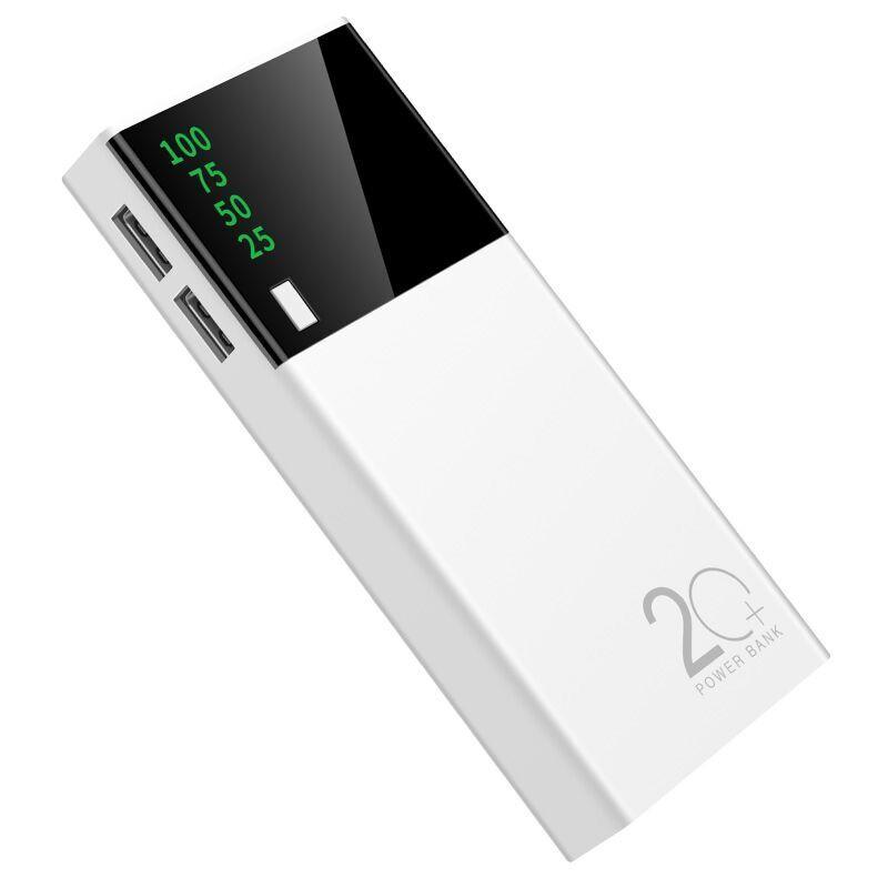 充电宝20000毫安大容量安卓苹果华为手机通用便携快充移动电源5万迷你小米vivo便携oppo手机50000m快充闪充