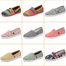 Spring new canvas shoes women's shoes low to help the old Beijing cloth shoes sports shoes a pedal driving shoes Mary shoes
