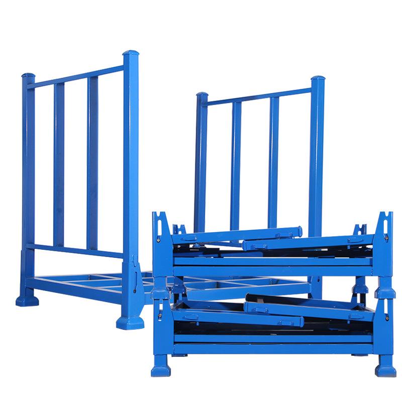 金属料架布匹存放架重型巧固架堆垛货架折叠料架