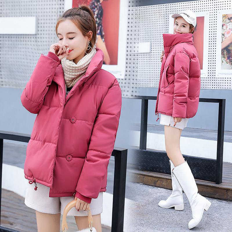 宽松面包服女短款ins小棉袄女2018新款 韩版 学生冬季外套百搭潮