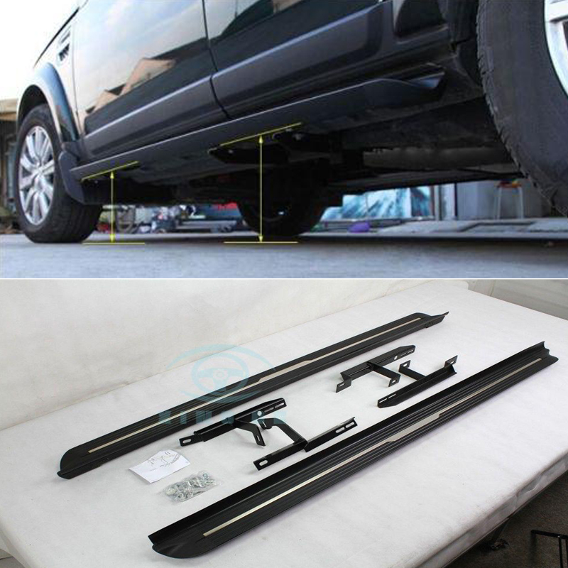 Details about For Range Rover Sport 2006-2013 Fit Aluminium Running Board  Side Step Bar Pedal