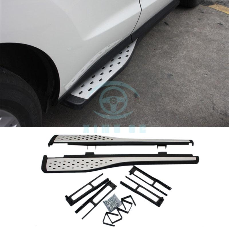 For Acura RDX 2010-16 Outside Aluminum Car Running Board