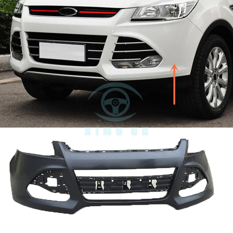 Front Bumper Assembly Replace No Paint For Ford Escape