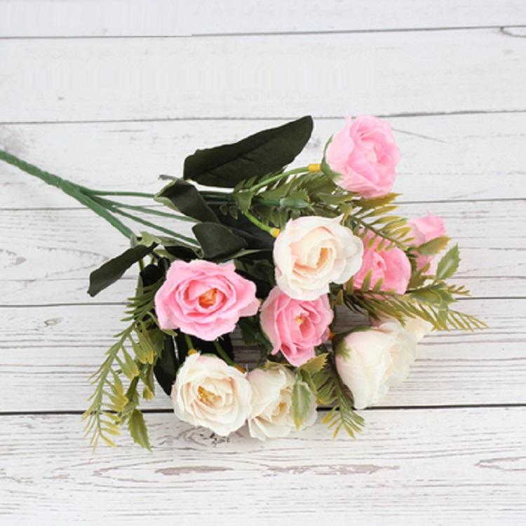 假花仿真花束塑料花小把绢花布花向日葵学校幼儿园楼盘插花装饰花