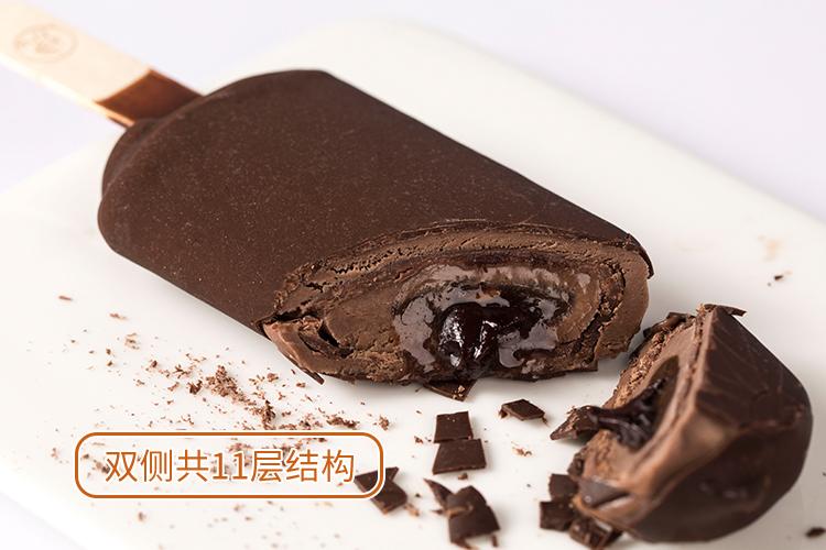 宏宝莱  爆浆巧克力 五味冰淇淋 25支 图13