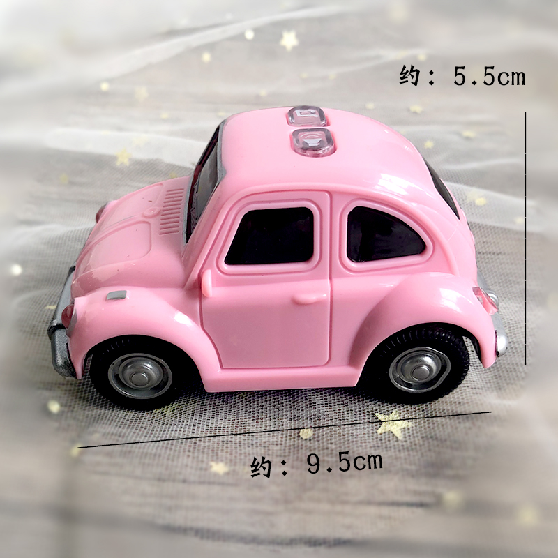 Q VERSION OF THE RETRO OLD PINK BEETLE