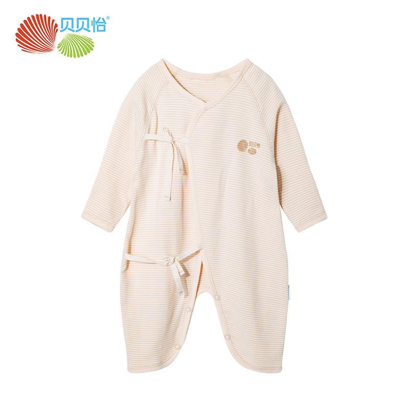 【贝贝怡】新生婴儿衣服初生连体衣纯棉爬行