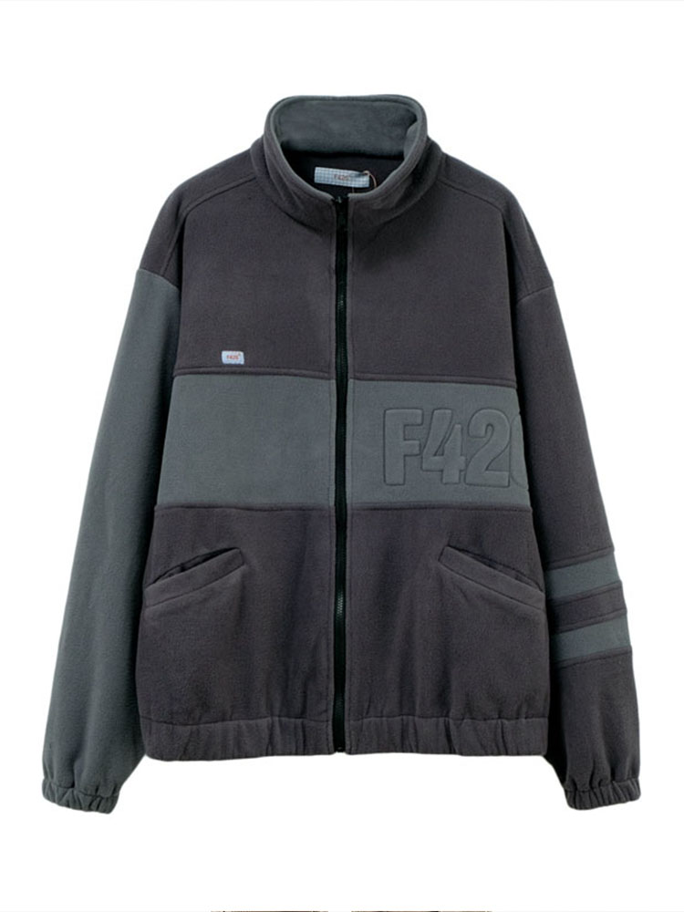 [F426 official store] vintage os second generation fleece Loose jacket men and women street work hiphop jacket
