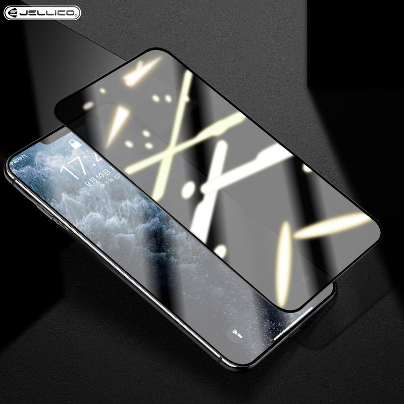 杰力科苹果11X防偷窥隐私钢化膜