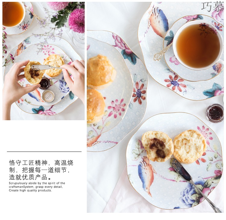 Qiao longed for some English afternoon tea coffee cups and saucers ipads China tea cup Europe type restoring ancient ways of pottery and porcelain tea set