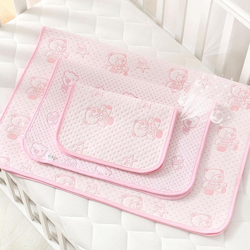 【甜萌】防水透氣可水洗純棉嬰兒隔尿墊
