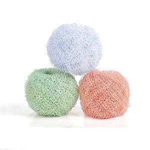纳米钢丝球家用厨房纤维清洁球刷碗神器带手柄不掉丝懒人洗锅刷子
