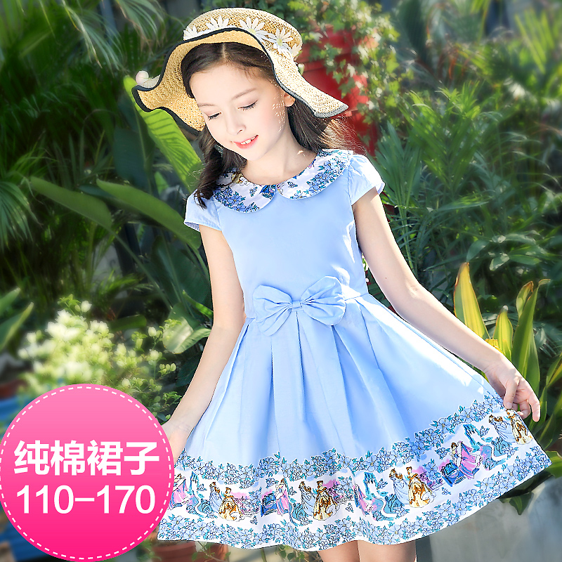 8f453157a 4 children s clothing girls dress 5 Summer 6 large children 7 Summer 8  little girl 9 cotton 11 princess skirt 14 years old